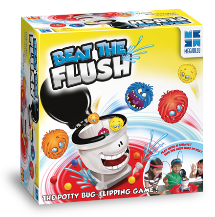 Beat the flush Game in a box
