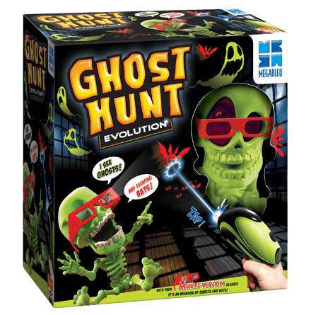 Ghost Hunt Evolution Game in a box