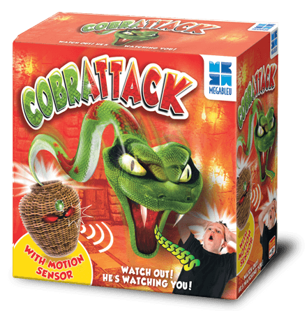 Cobrattack Game in a box