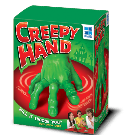 Creepy Hand Game in a box