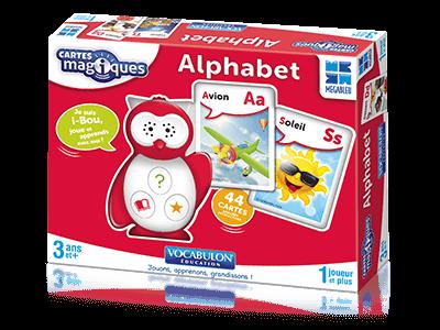 i-Bou Cartes Magiques Alphabet, Mégableu