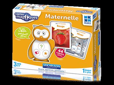 i-Bou Cartes Magiques Maternelle, Mégableu