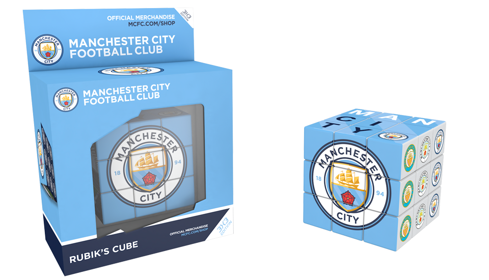 Rubik's Cube, Licence club Manchester City