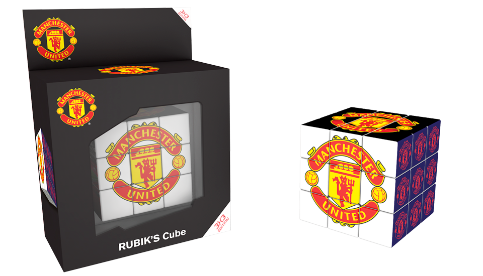 Rubik's Cube, Licence club Manchester United