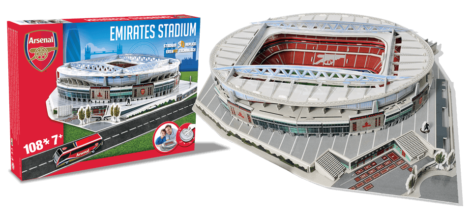 Puzzle 3D Emirates Arsenal stadion