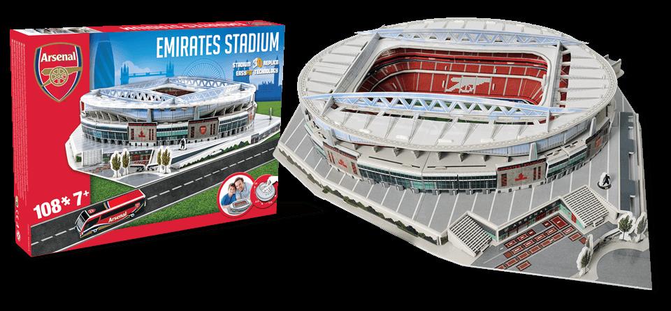 Puzzle 3D stade Emirates Arsenal