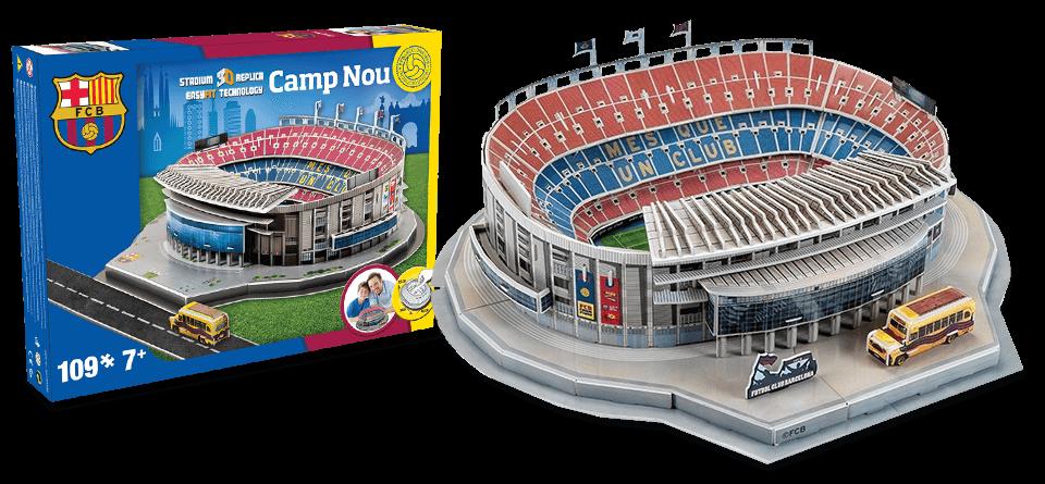 Puzzle 3D stade Camp Nou FC Barcelone