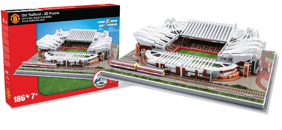 Puzzle 3D stade Old Trafford Manchester United