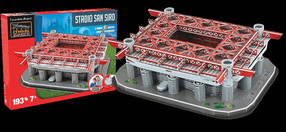 Puzzle 3D stade San Siro Milan AC