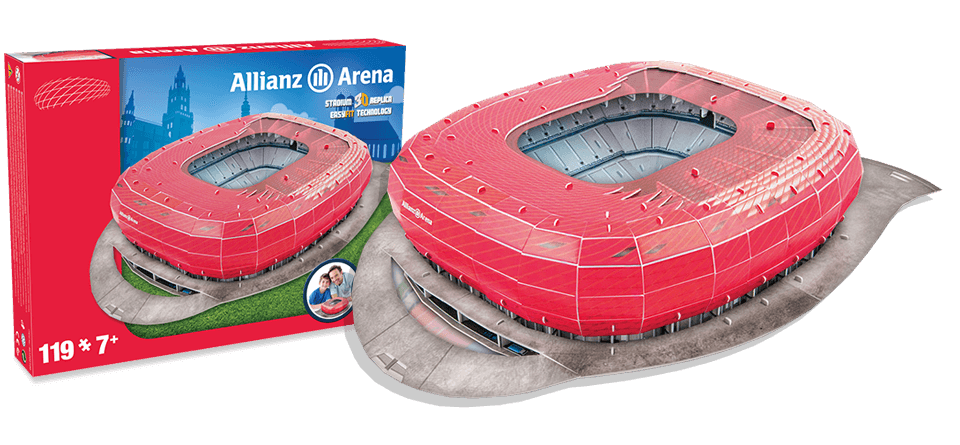 Puzzle 3D Allianz Arena Munich stadion