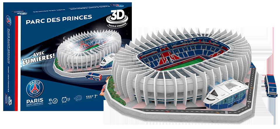 Puzzle 3D stade Parc des Princes PSG Paris
