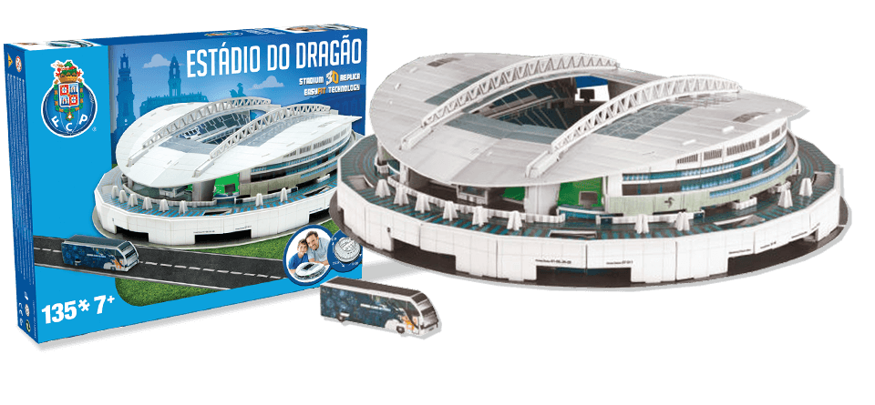 Puzzle 3D stade Do Dragao Porto