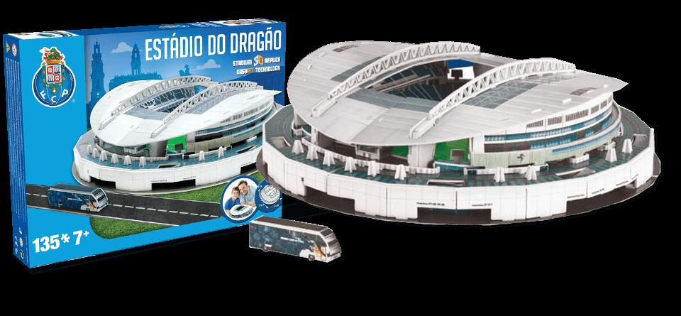 Puzzle 3D stade Do Dragao Porto